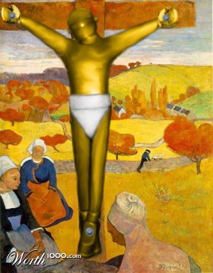 The Yellow Christ Gauguin