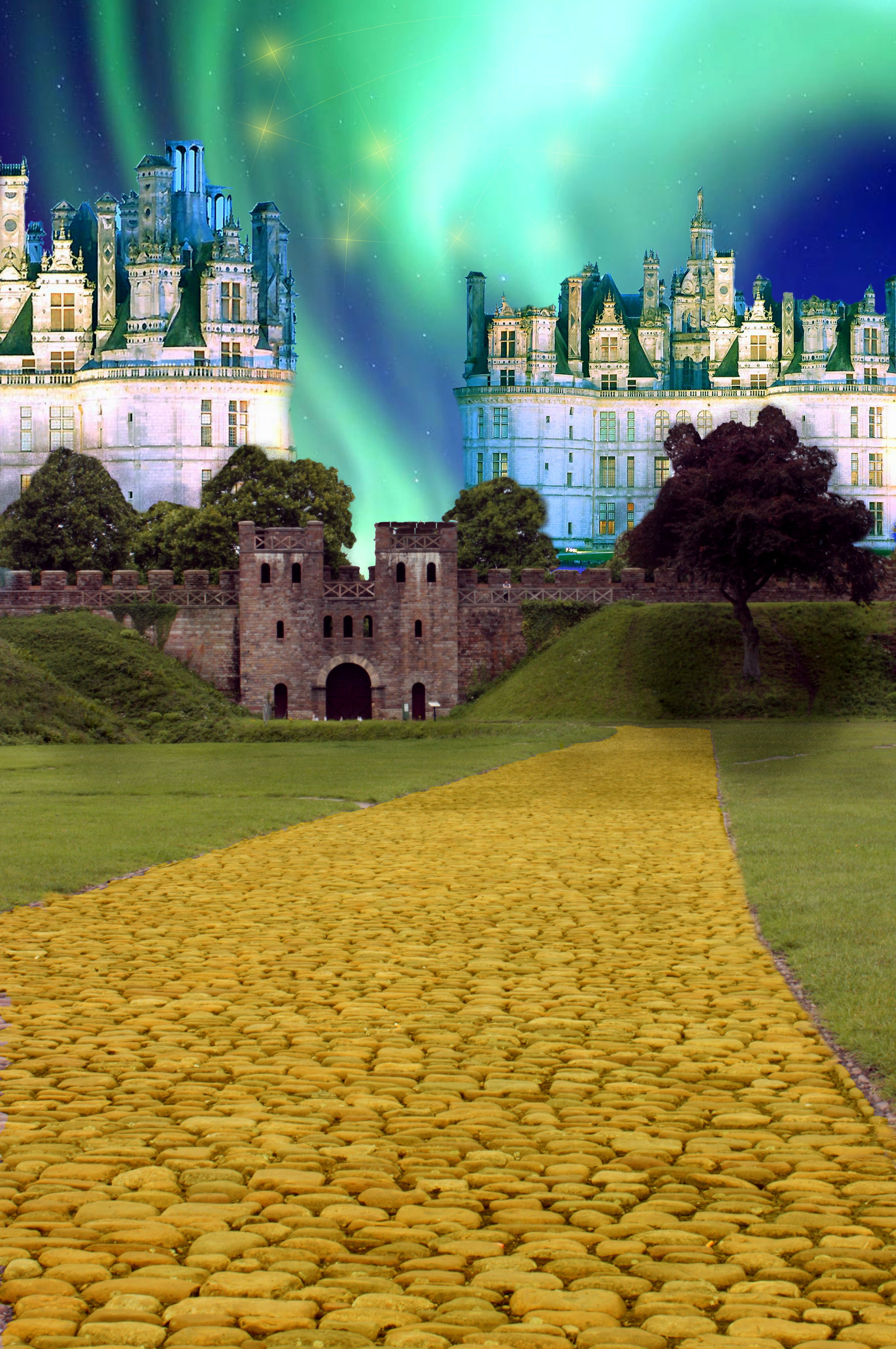 This photoshop contest is now closed 19 creatives for Emerald city nickname