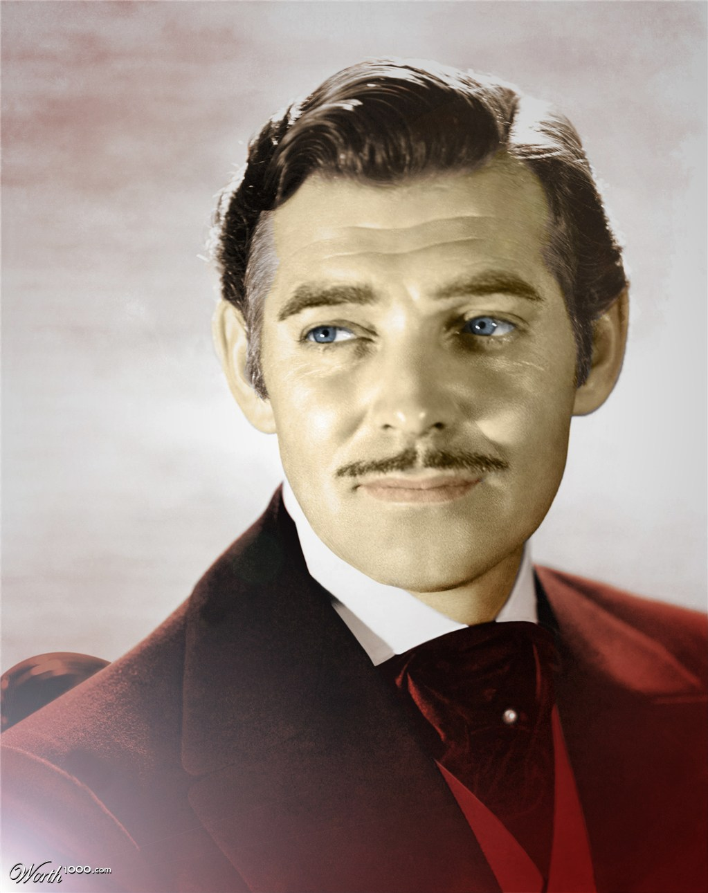 Clark gable colouring pages