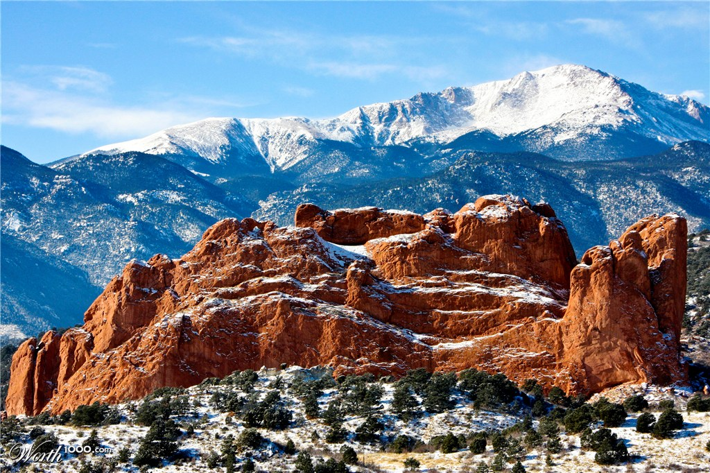 Kissing Camels Rock Garden Of The Gods Worth1000 Contests