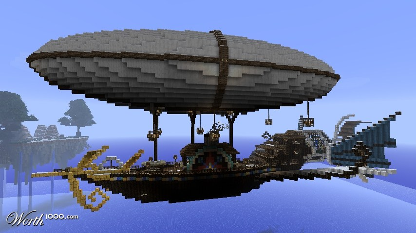 The gallery for --> Airship Minecraft Blueprints