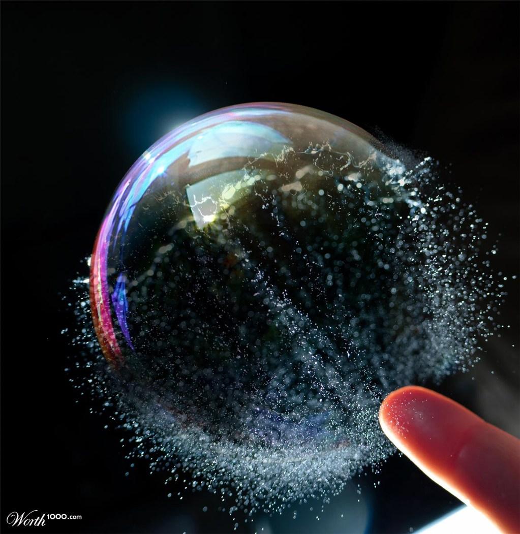 bubble burst