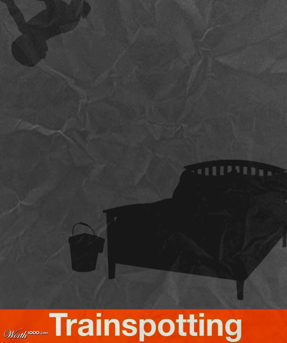 Trainspotting Poster Minimalist Minimalist Movie Posters 4