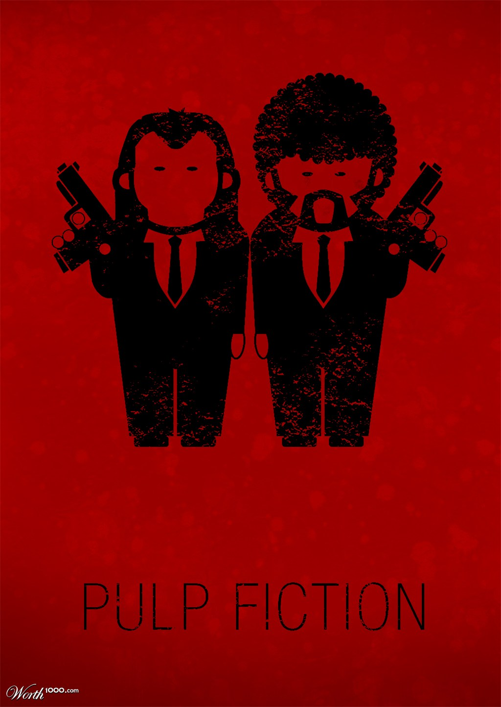 Minimalist Movie Posters 4 Pulp Fiction Poster