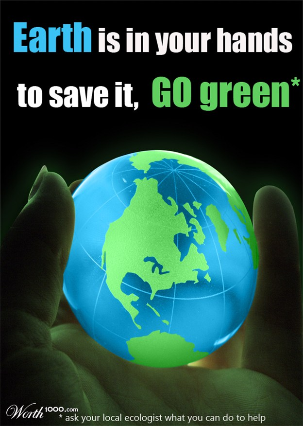 Bonus: Go Green Posters 2012 - Worth1000 Contests
