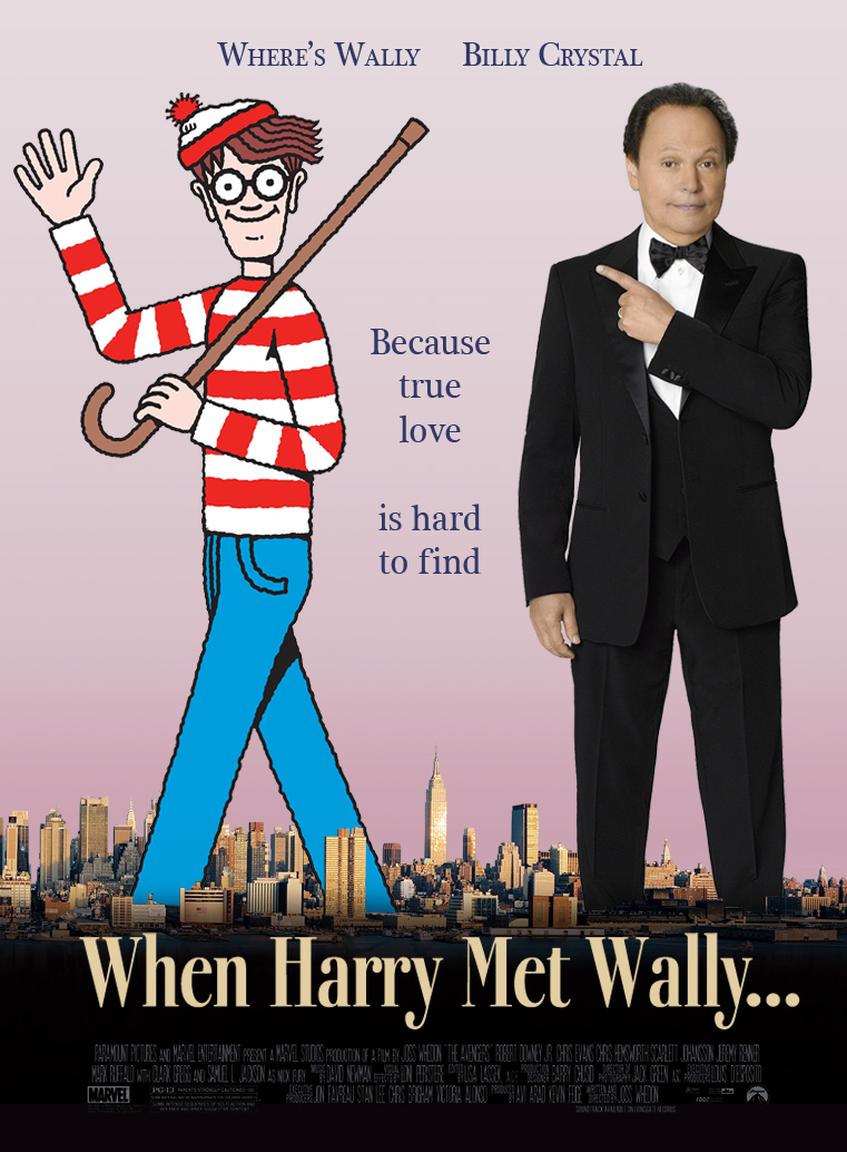 When Harry met Wally letter off DesignCrowd