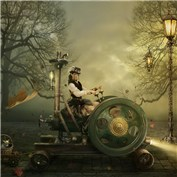 Steampunk: Fantastical Transportation!