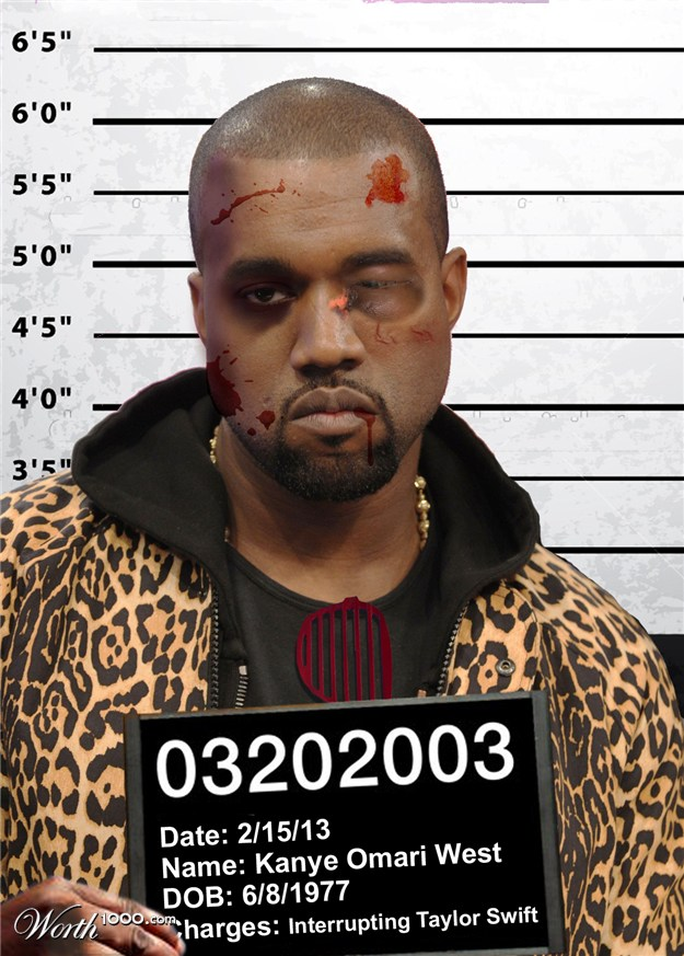 Is Kanye the only rapper with no mugshot? « Kanye West Forum