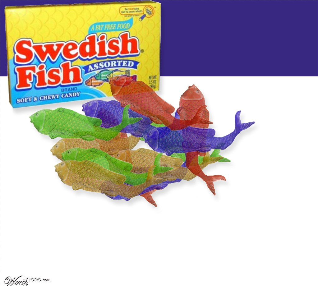 Swedish fish worth1000 contests for Swedish fish amazon
