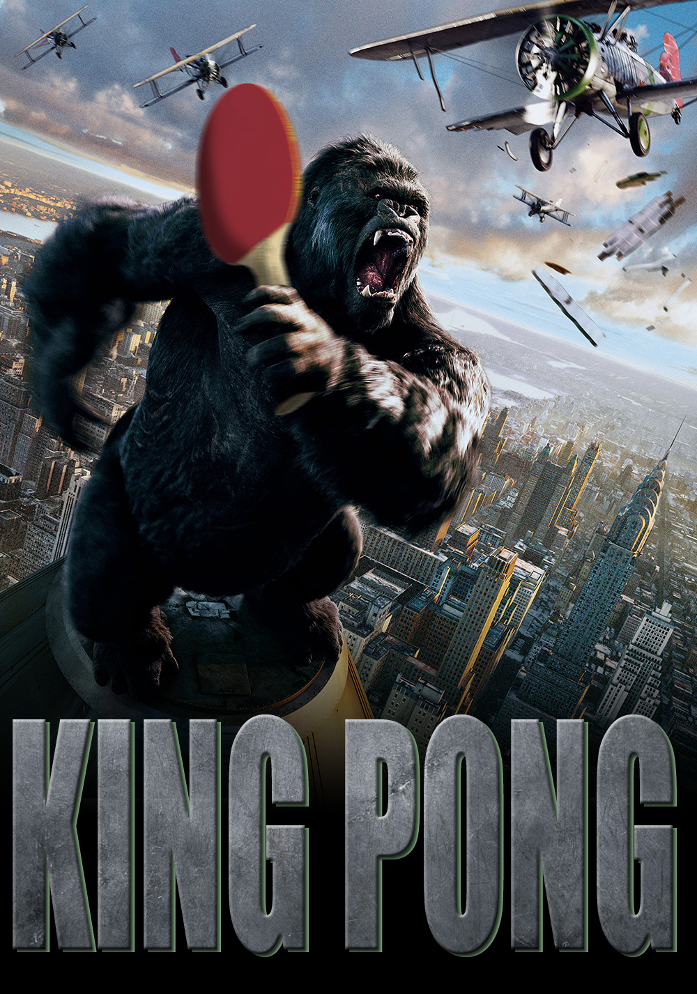 King Pong One letter off DesignCrowd