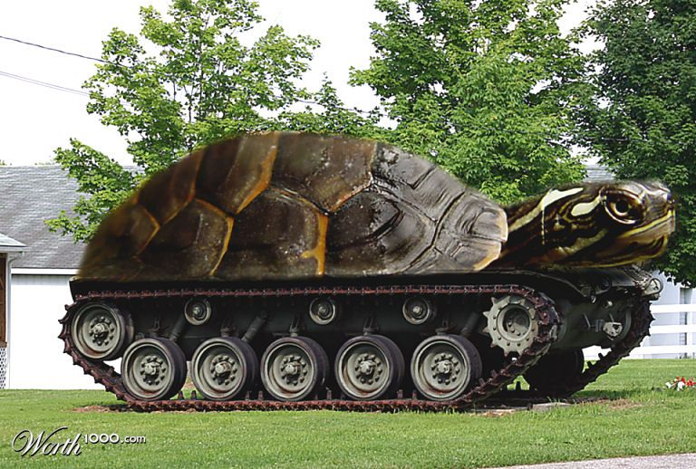 turtle tank by alsarmy 30th place entry in rusty tank