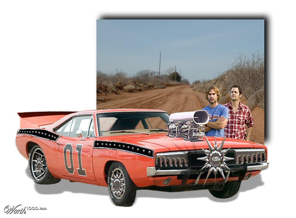 Dukes of hazzard car