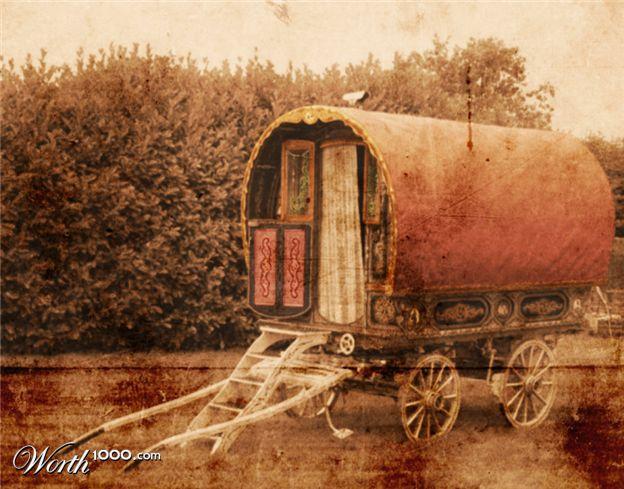 of a gypsy wagon