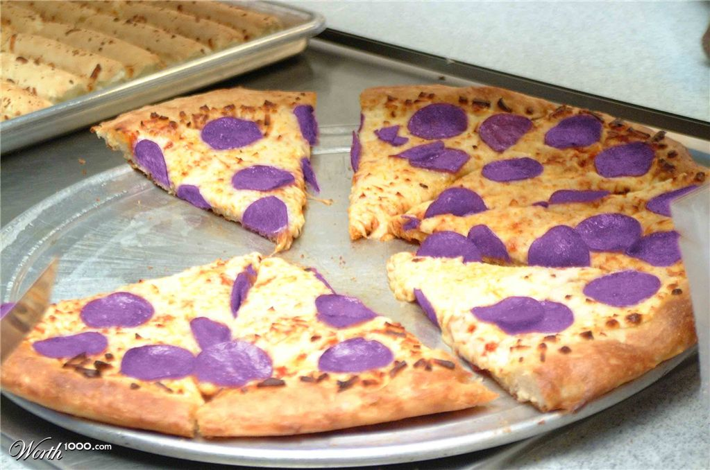 Purple Pizza - Bing images