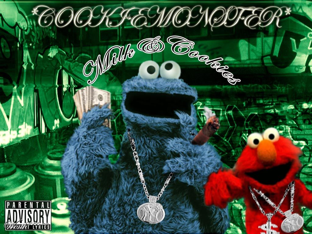 Pictures Of Gangster Cookie Monster Drawing Kidskunstinfo