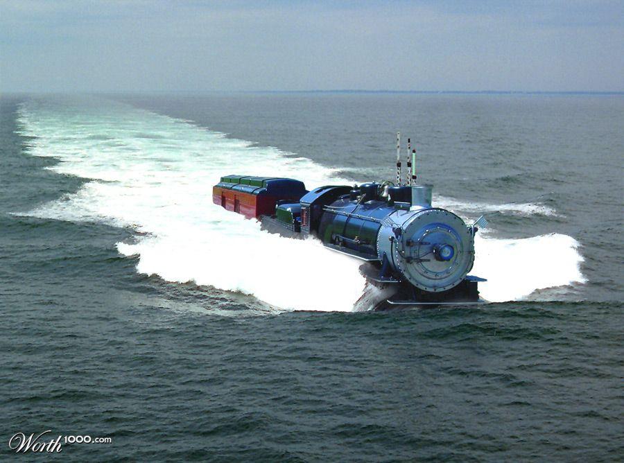 Sea Train - Worth1000 Contests