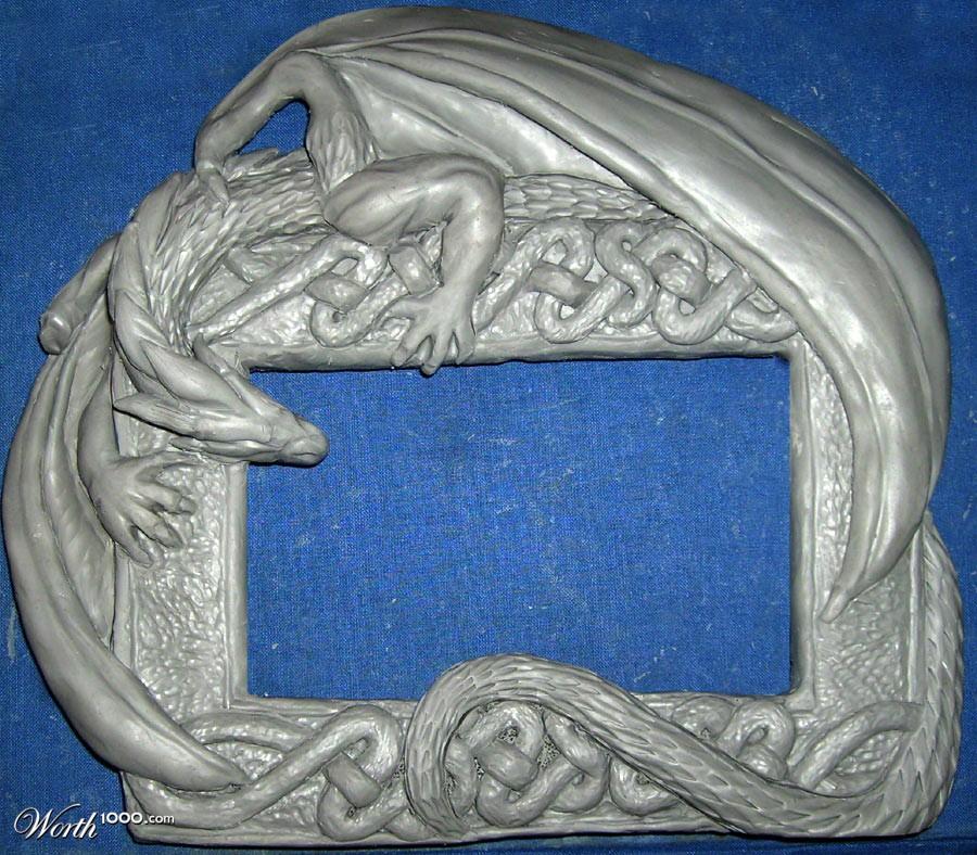 Dragon Frame :d - Fan Art - Warframe Forums