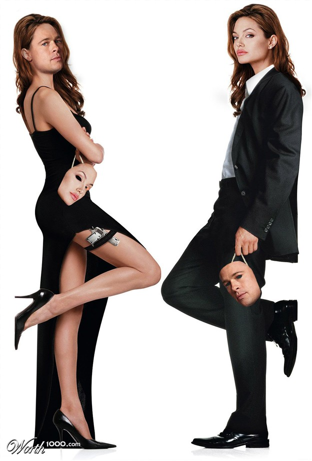 Angelina and brad pitt mr and mrs smith