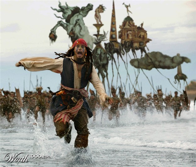 Jack Sparrow Running From Cannibals | www.pixshark.com ...