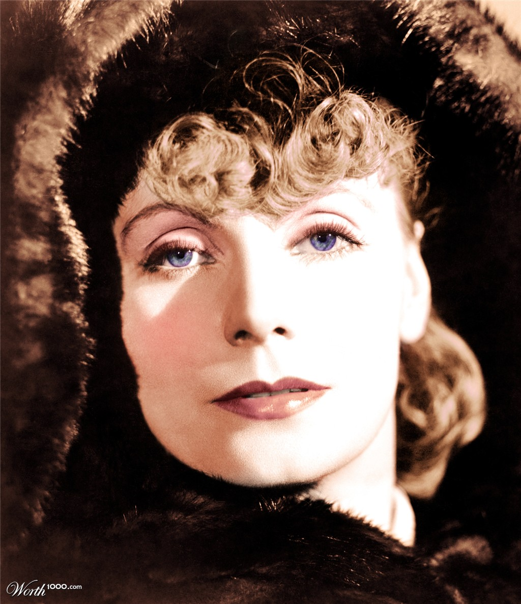 greta garbo colored by deaddonkeysrule 28th place entry in    Greta Garbo Color