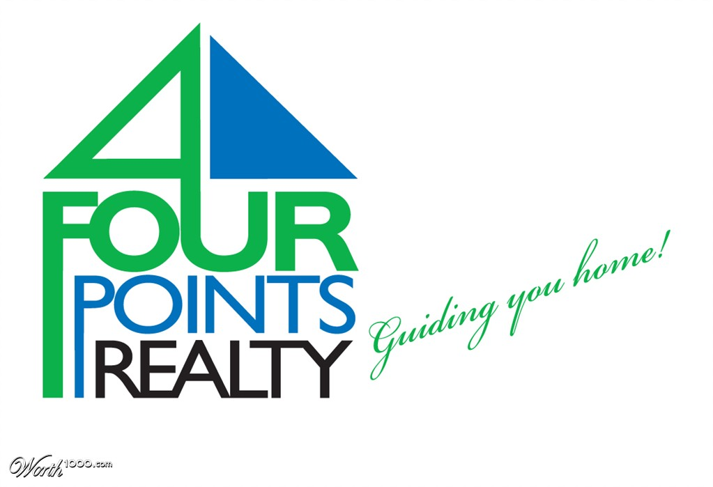 Four Points Logo in Four Points Realty