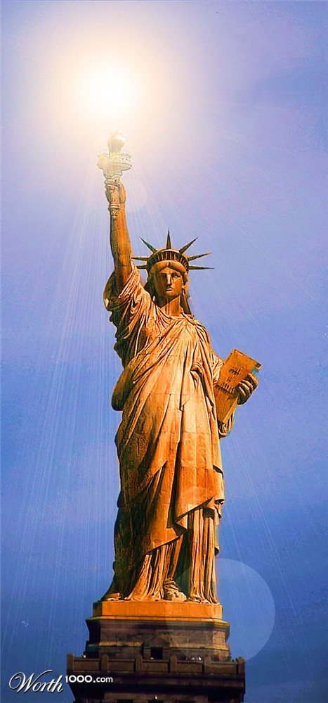 Statue Of Liberty Copper Color Pictures to Pin on ...