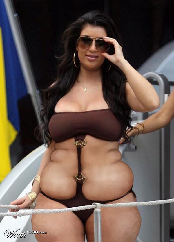 Ким кардашьян фото в купальнике порно 56195 фотография
