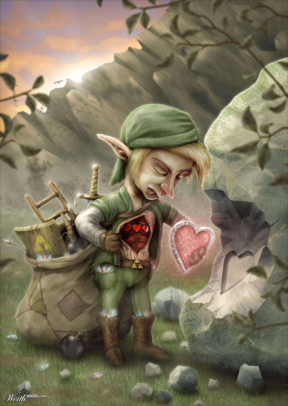 the gallery for gt zelda 16 bit heart