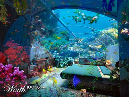bedroom under the sea worth1000 contests