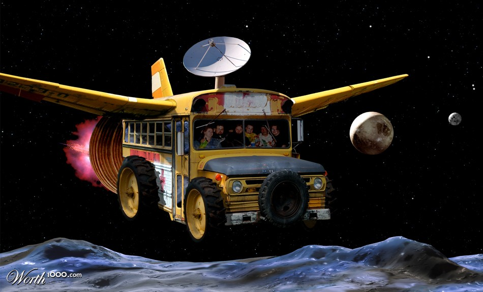 Space Bus - Worth1000 Contests