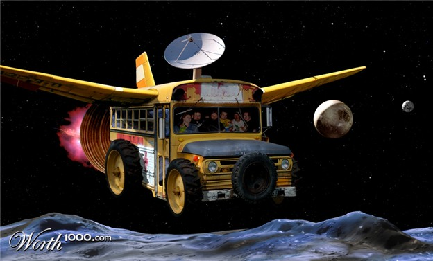 Redneck Space Shuttle - Pics about space