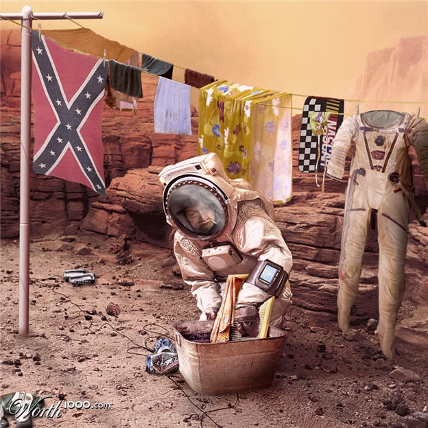 Redneck Space Race 3 - Worth1000 Contests