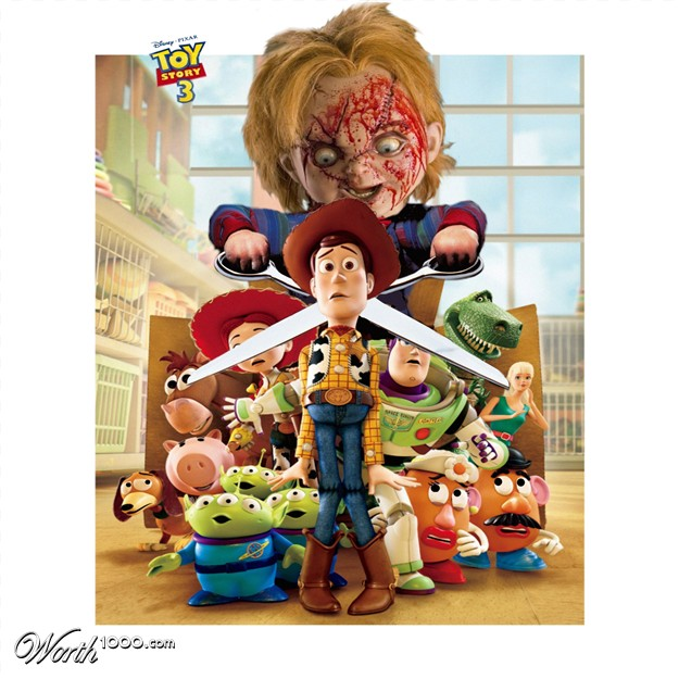 Toy Story 4 Chucky : Villain swap movies worth contests