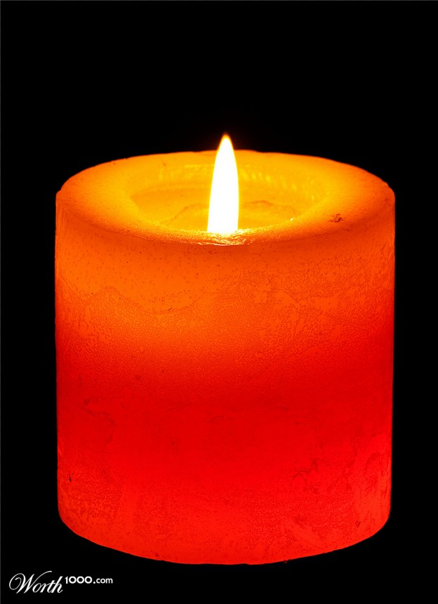Image result for orange candle