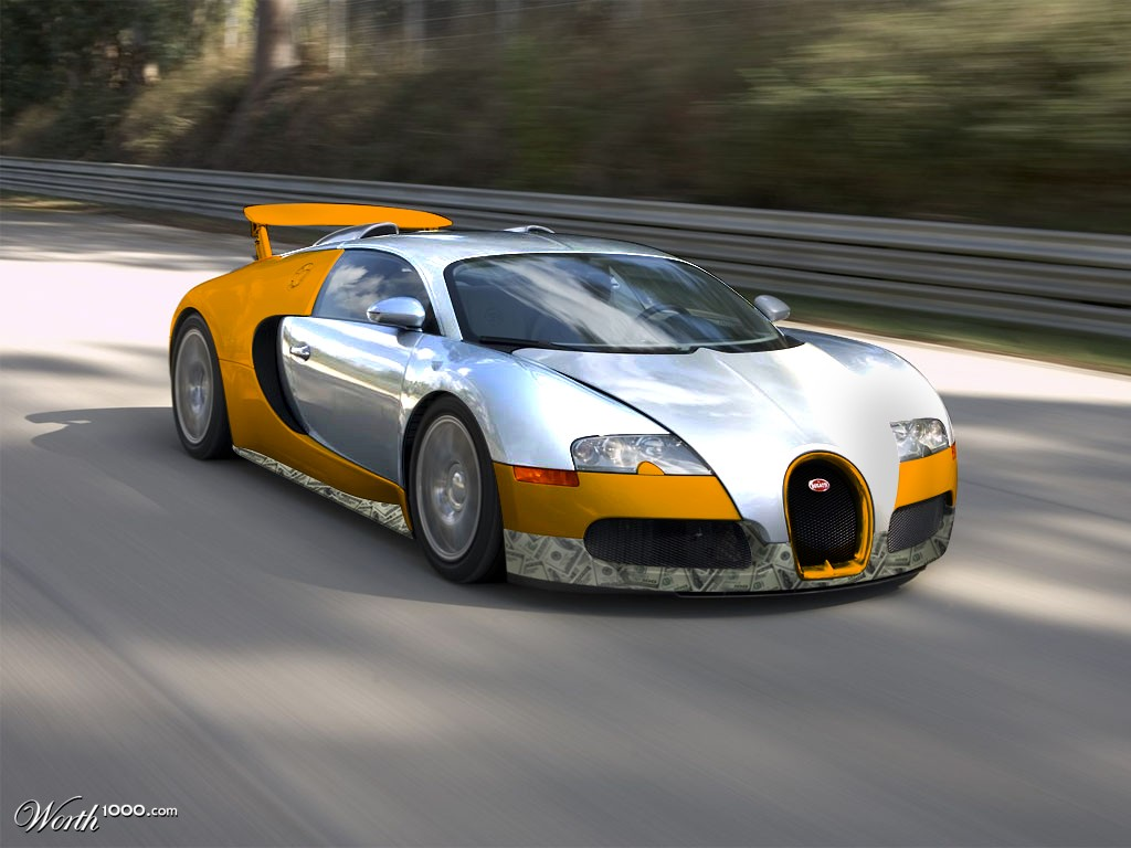 bugatti veyron gold chrome money package worth1000 contests. Black Bedroom Furniture Sets. Home Design Ideas