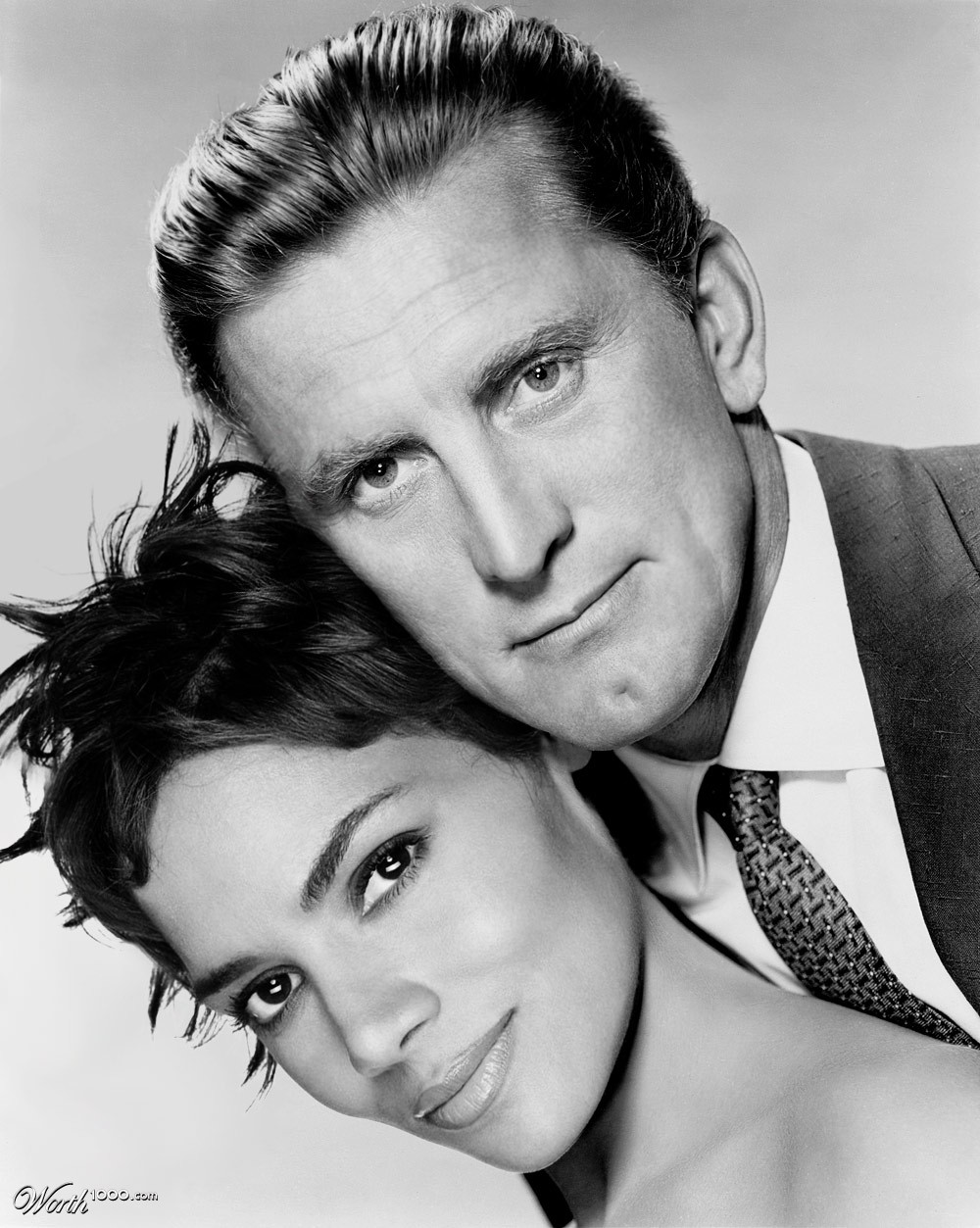 Kirk Douglas couple