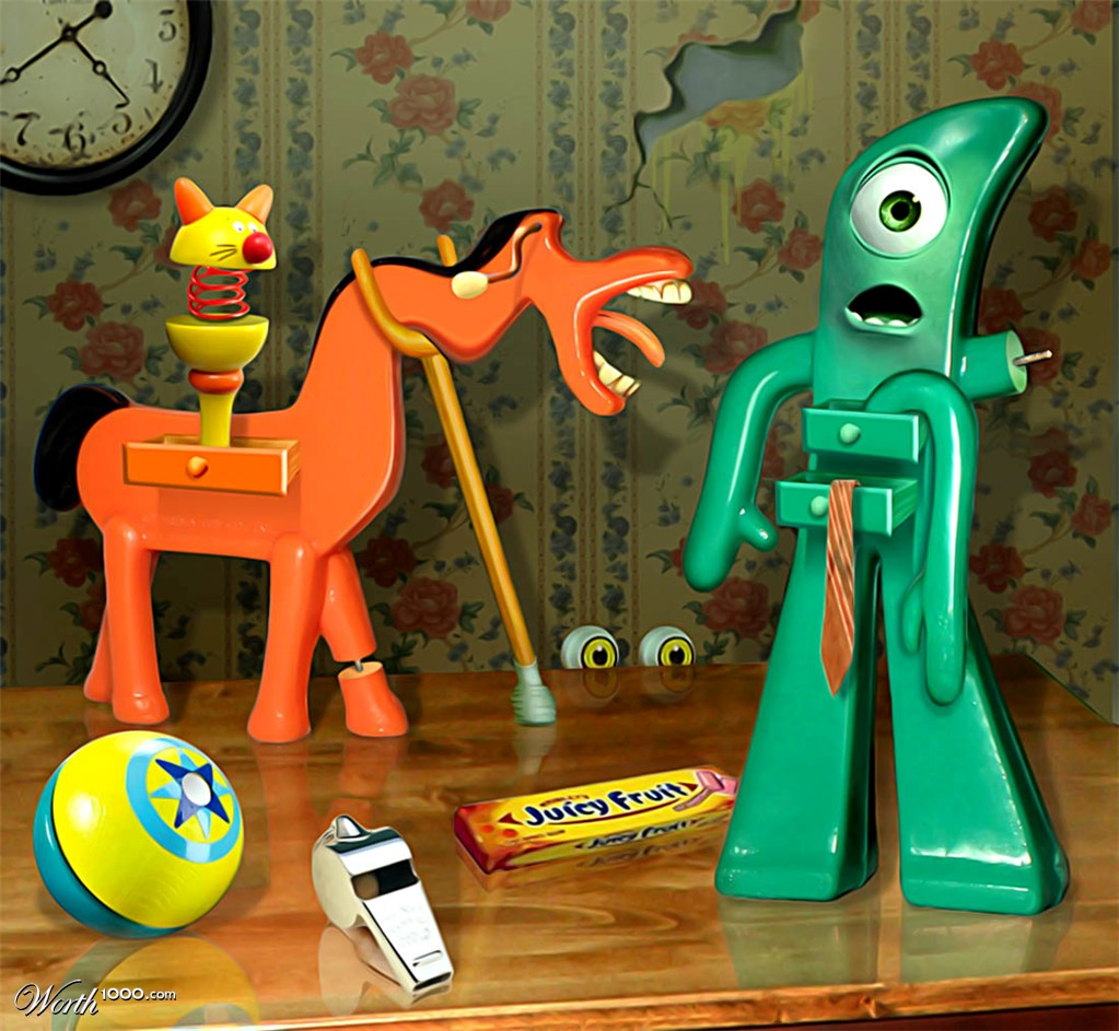 Gumby and pokey wallpaper