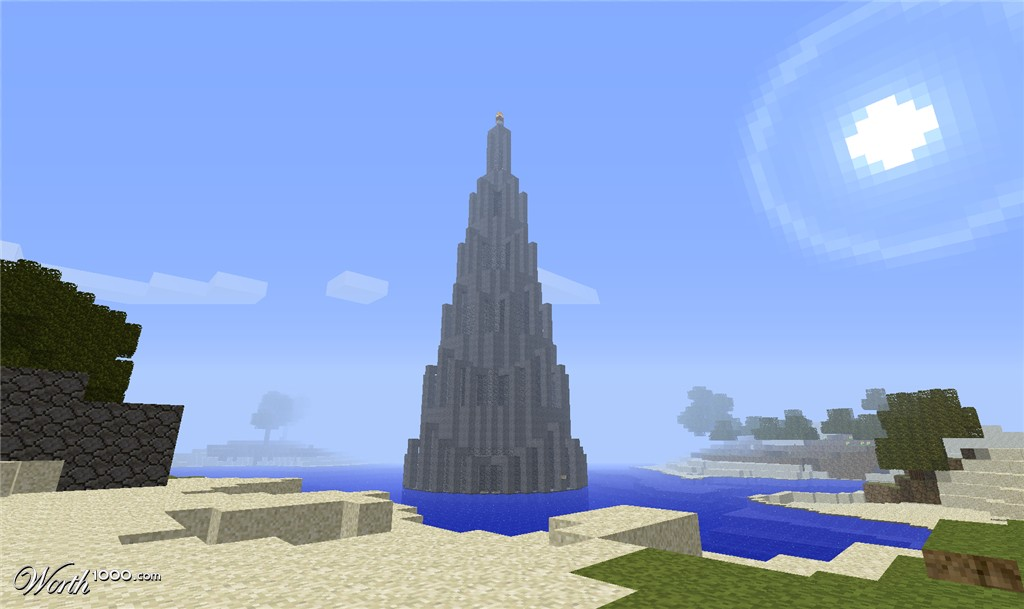 147th Place Entry in Minecraft