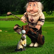 B2B - Old Golfer
