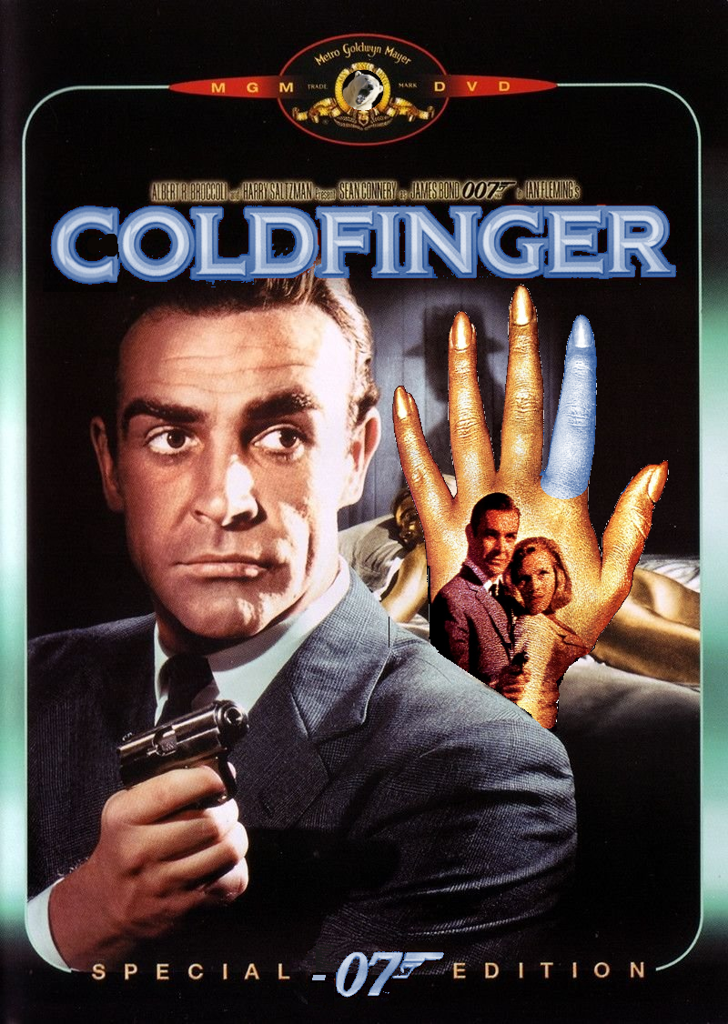 Coldfinger One letter off DesignCrowd