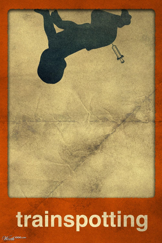 Trainspotting Poster Minimalist Minimalist Movie Posters 2