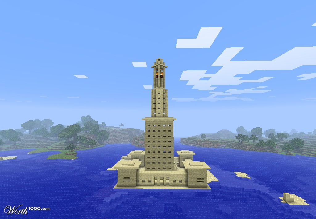 Pharos Lighthouse Minecraft images