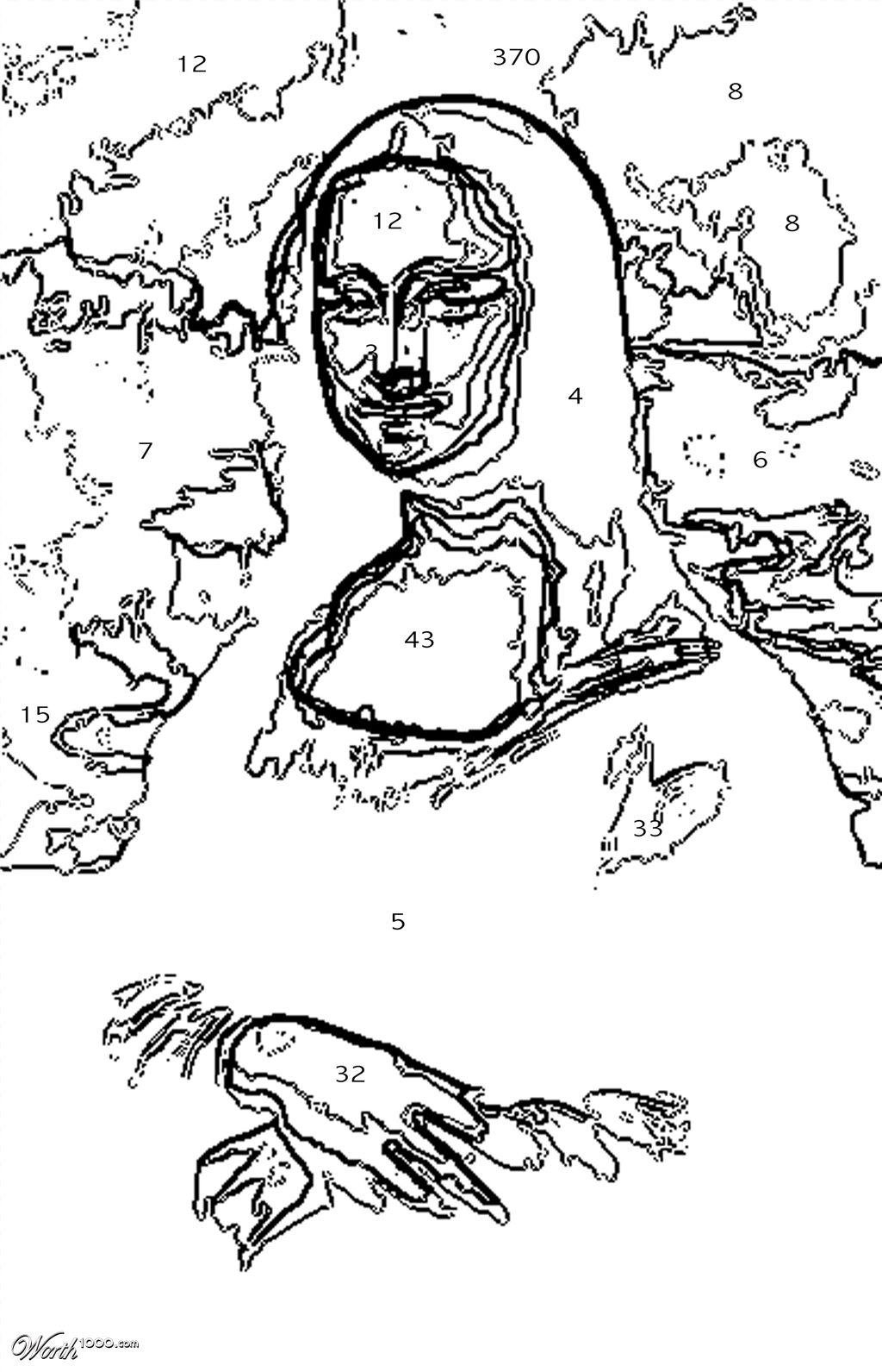 Mona Lisa Coloring Page Leonardo  Search Results  Fun Coloring Pages