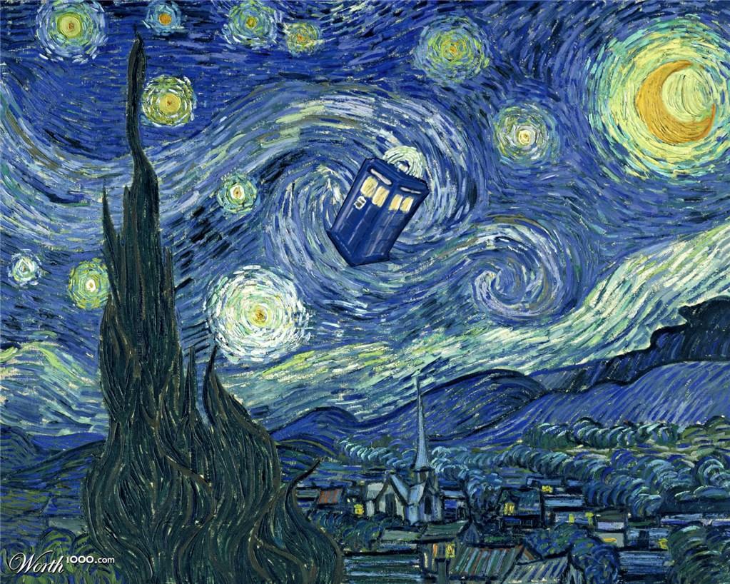 Vincent Van Gogh Doctor Who Vincent Van Gogh Sunflowers