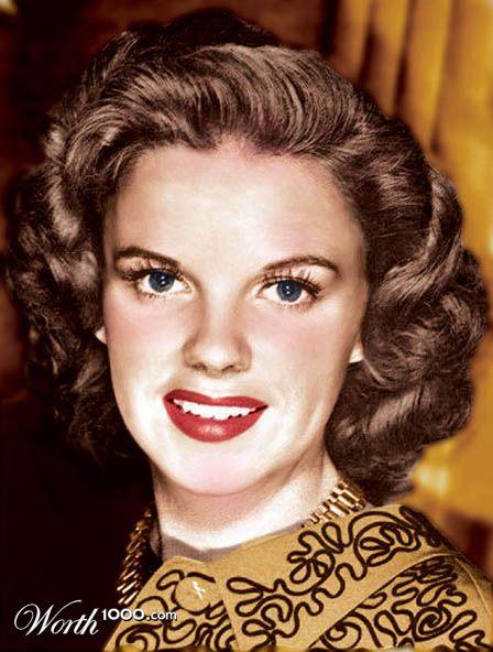 Judy Garland Color