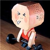 Macula Chum Chum Paper Toy