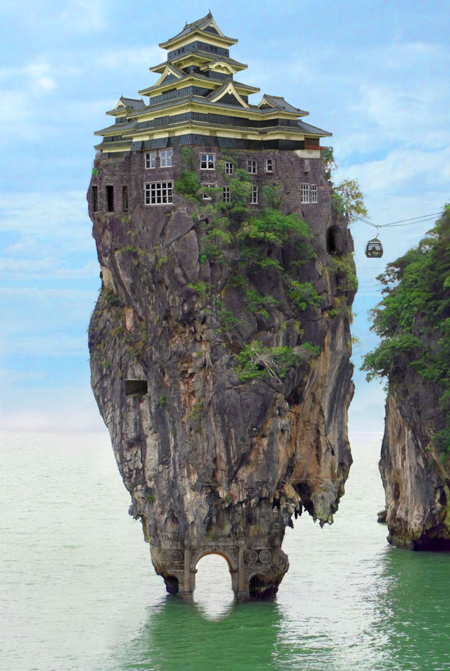 Houses And Architecture Built In Unusual Places