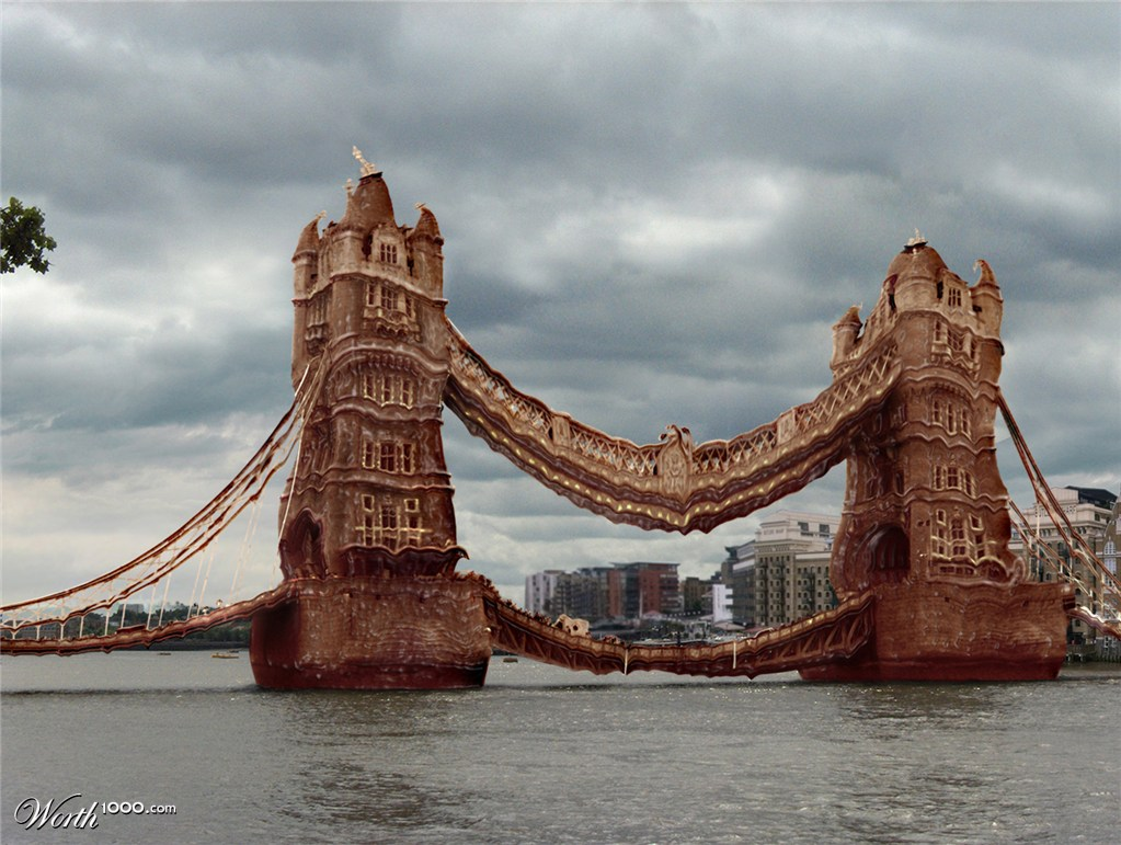 London bridge is melting down worth1000 contests for Design bridge london