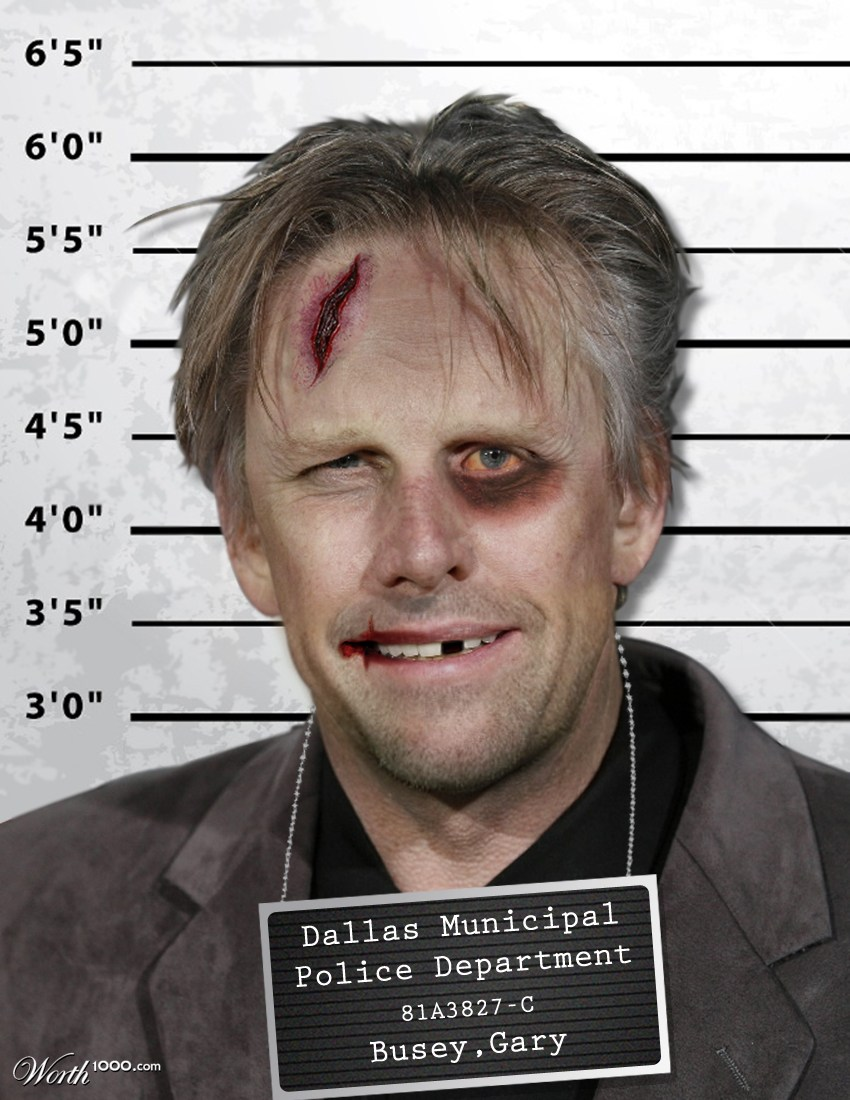 6th place entry in Celebrity Mugshots 4Gary Busey Motorcycle Accident Before And After