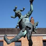 B2B - Fool Statue